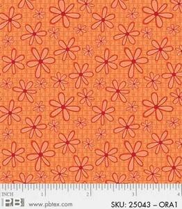P&B Basically Hugs 100% Cotton -Orange #25043 ORA