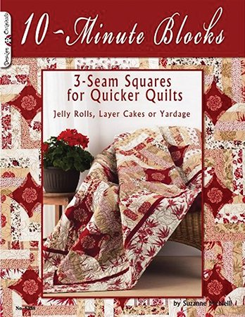 Design Originals 10-minute Block Quilting Book Number 5358 by Suzanne McNeil