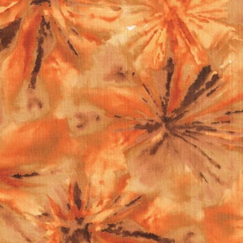 Blank Quilting Watercolor Parade Spice  100%  Cotton   44''/45''