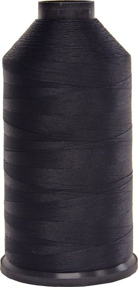 Superior Threads #001 Black - Bonded Nylon Thread size #69