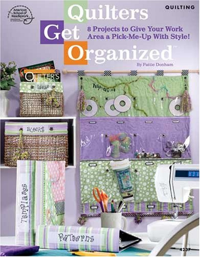 Quilters get organized book