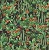 Blank Quilting Desert Dwellers BTR5262 Black Cactus 100% Cotton - 44''/45'' wide