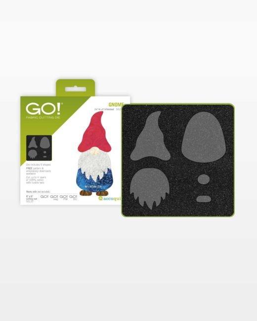 Accuquilt GO! Gnome Die # 55210