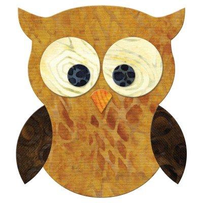 Accuquilt Go! Cutting Die Applique Owl 55333