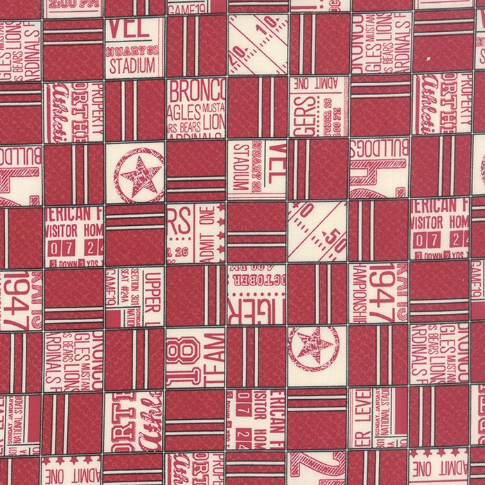 Fabric Cotton VARSITY 5590 12 by Sweetwater for MODA
