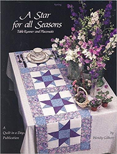 A Star for All Seasons Table Runner and Placemats