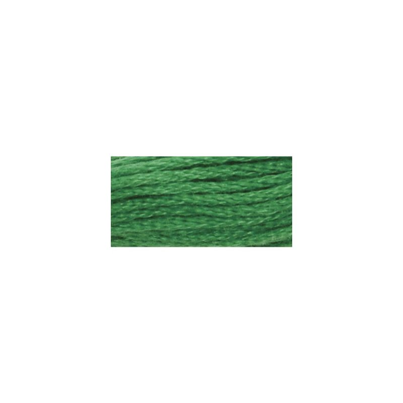 Embroidery Floss 8.75 Yards Christmas Green Bright 6227 (48A) Coats & Clark Six Strand