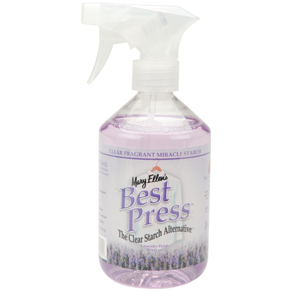 Mary Ellen's Best Press Clear Starch Alternative 16 Ounces Lavender Fields