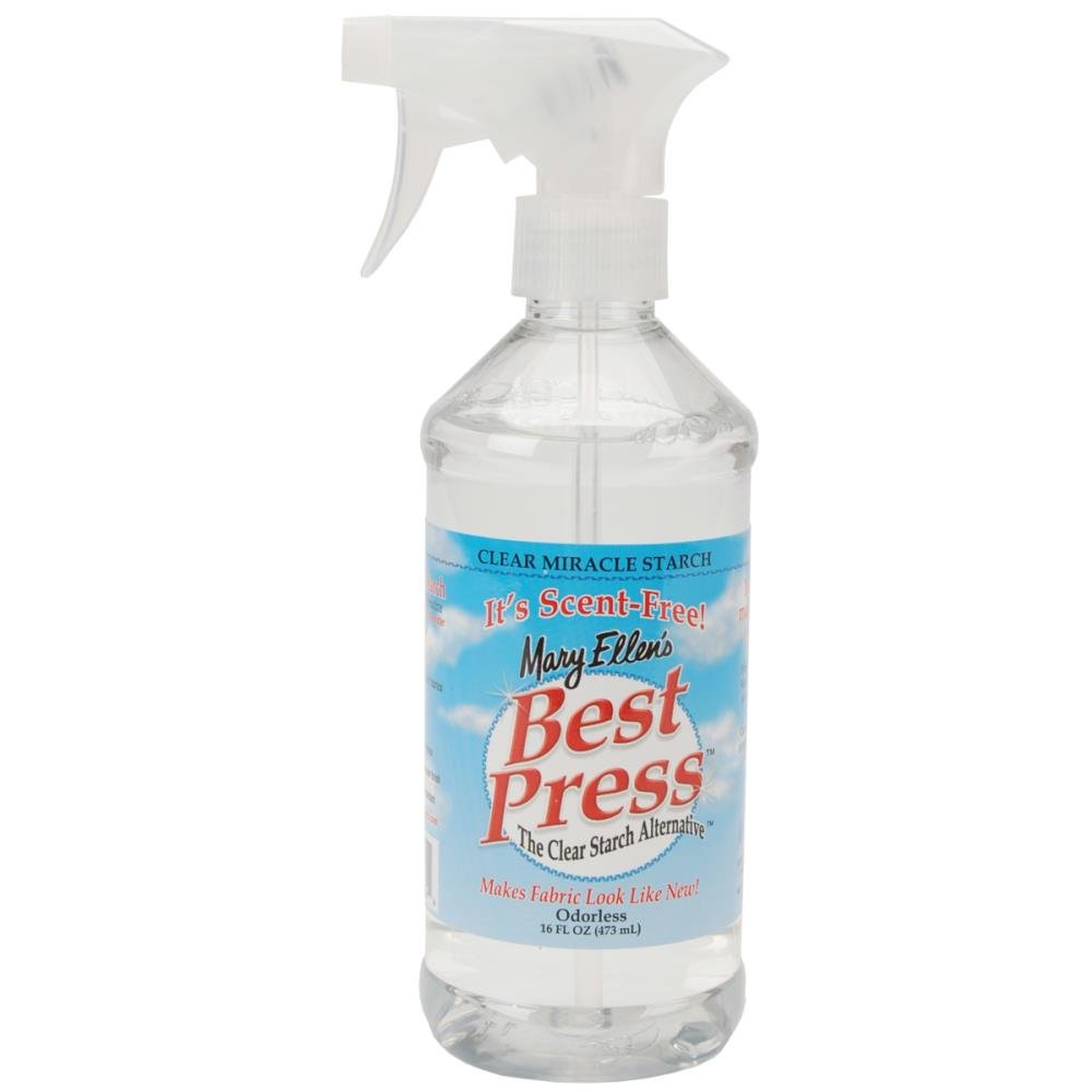 Mary Ellen's Best Press Clear Starch Alternative 16 Ounces Scent Free
