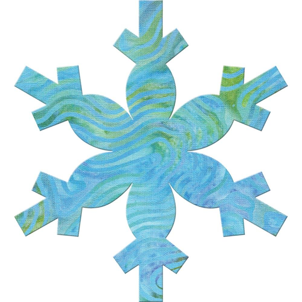 Accuquilt Go! Cutting Die Applique Snowflake 55359