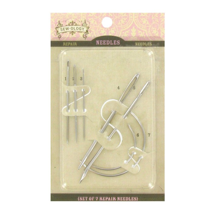 Needles Hand Sew-Ology Repair Needles Heavy Items, upholstery