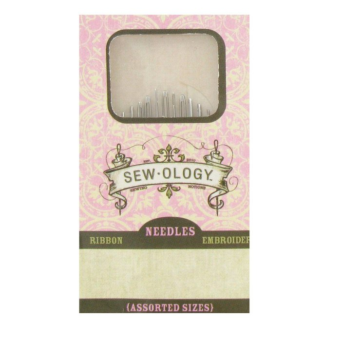Needles Sew-Ology Ribbon Embroidery Needles Hand Sewing Needles