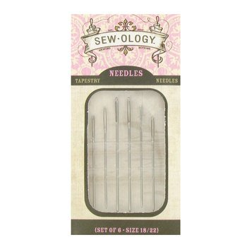 Needles Sew-Ology Size 18/22 Tapestry Needles Hand Sewing Needles
