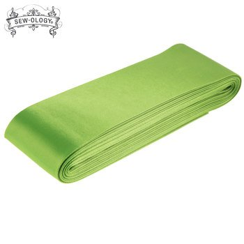 Blanket Binding Satin 2 inch 4 3/4 yards Lime Green Sew-Ology