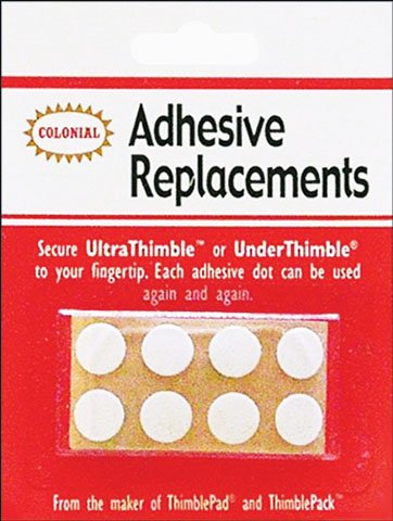 Colonial Under Thimble Replacement Adhesive 8/pkg