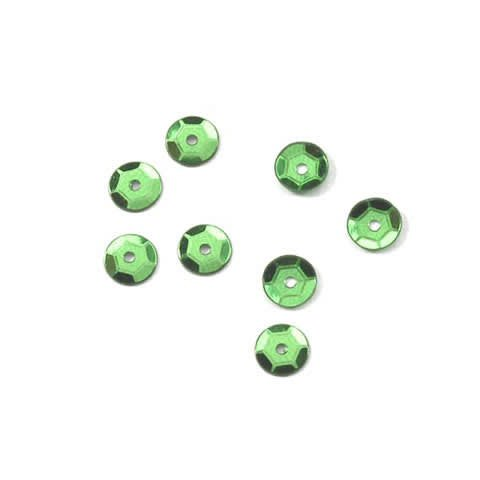 Crafts Darice Sequins 800pc C198-0002 Kelly Green