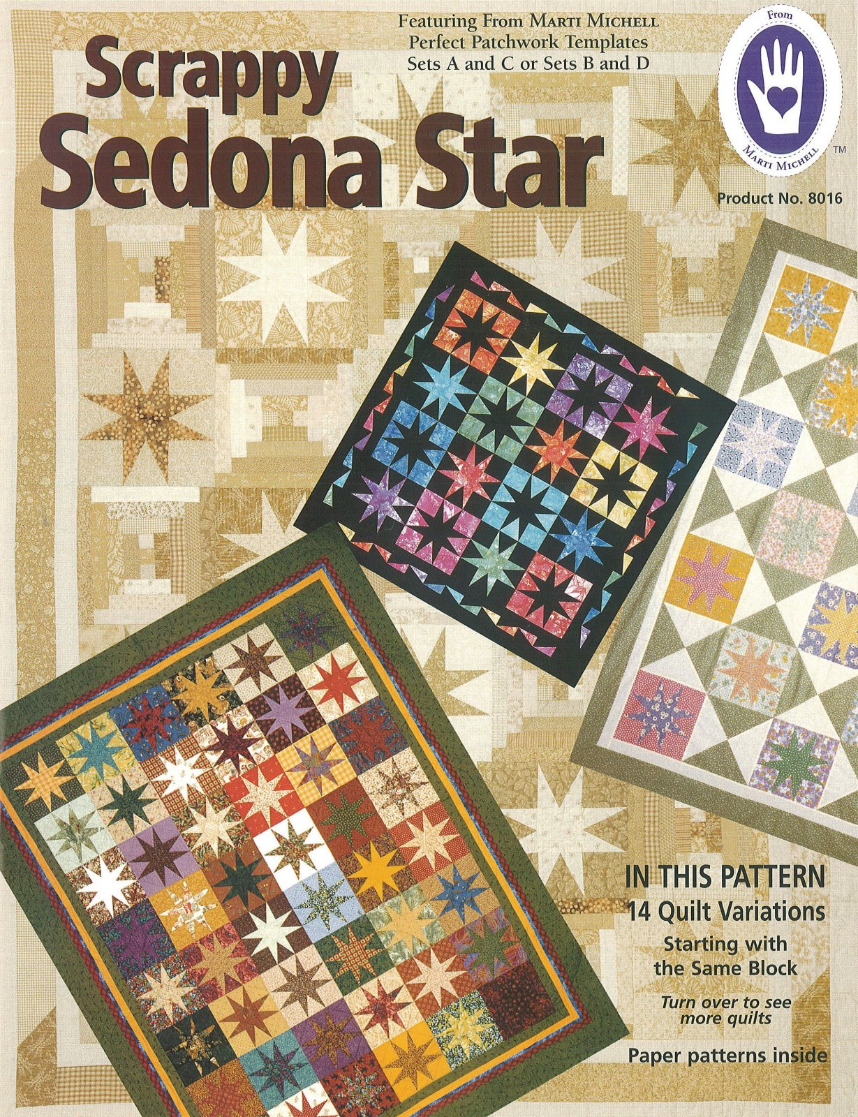 Scrappy Sedona Star Quilts