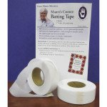 Fusible Batting Tape 1 x 30yd two pack Marti Michell