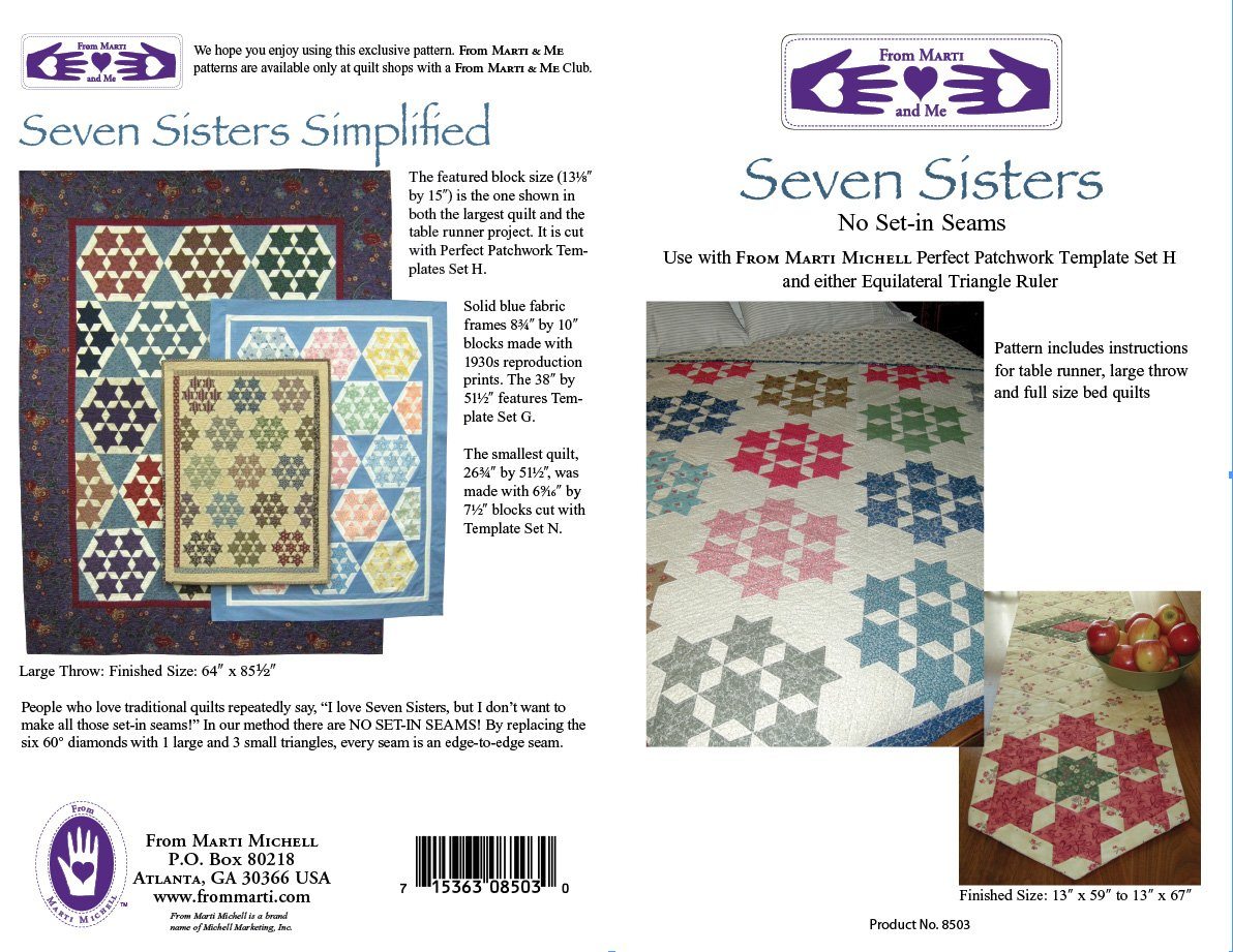 Seven Sisters Kit and Pattern Marti Michell