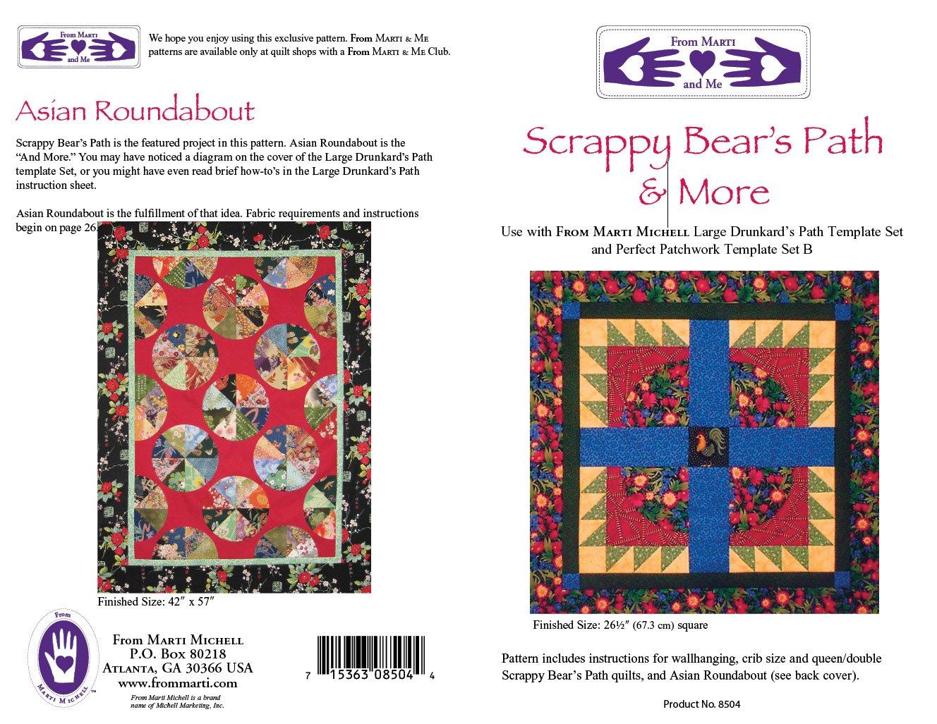 Scrappy Bear's Path & More Pattern Marti Michell