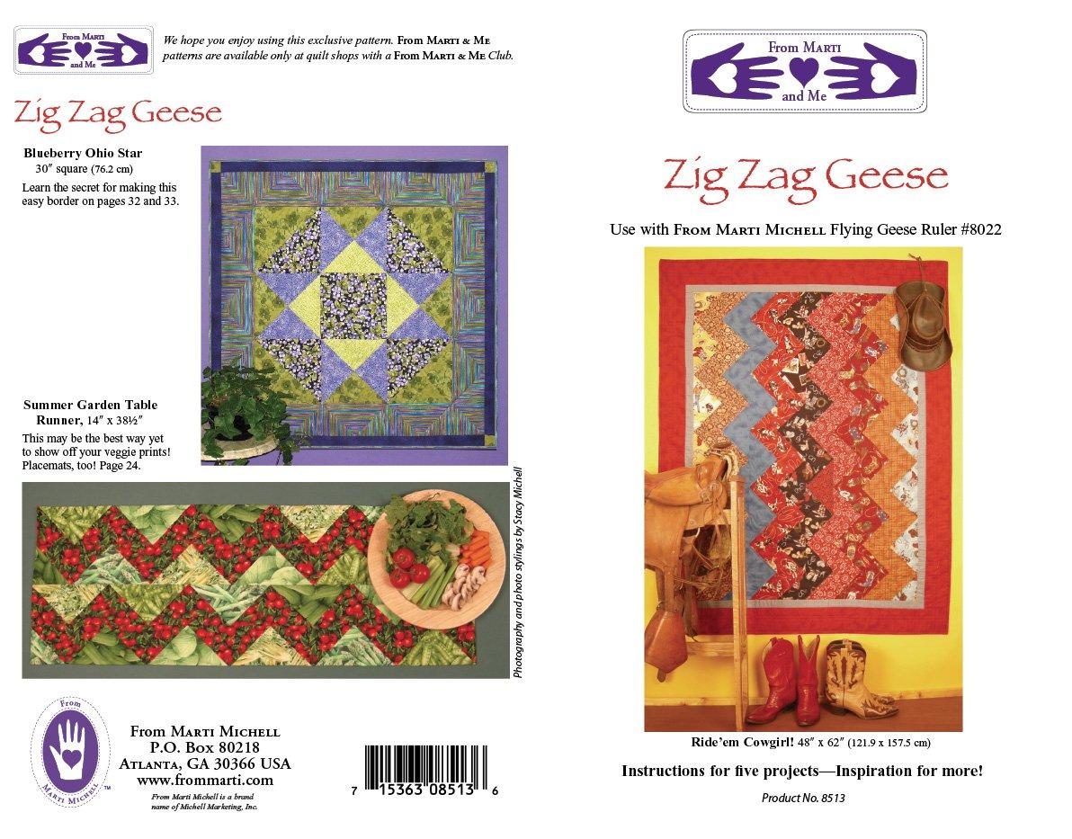 Zig Zag Geese Pattern Marti Michell