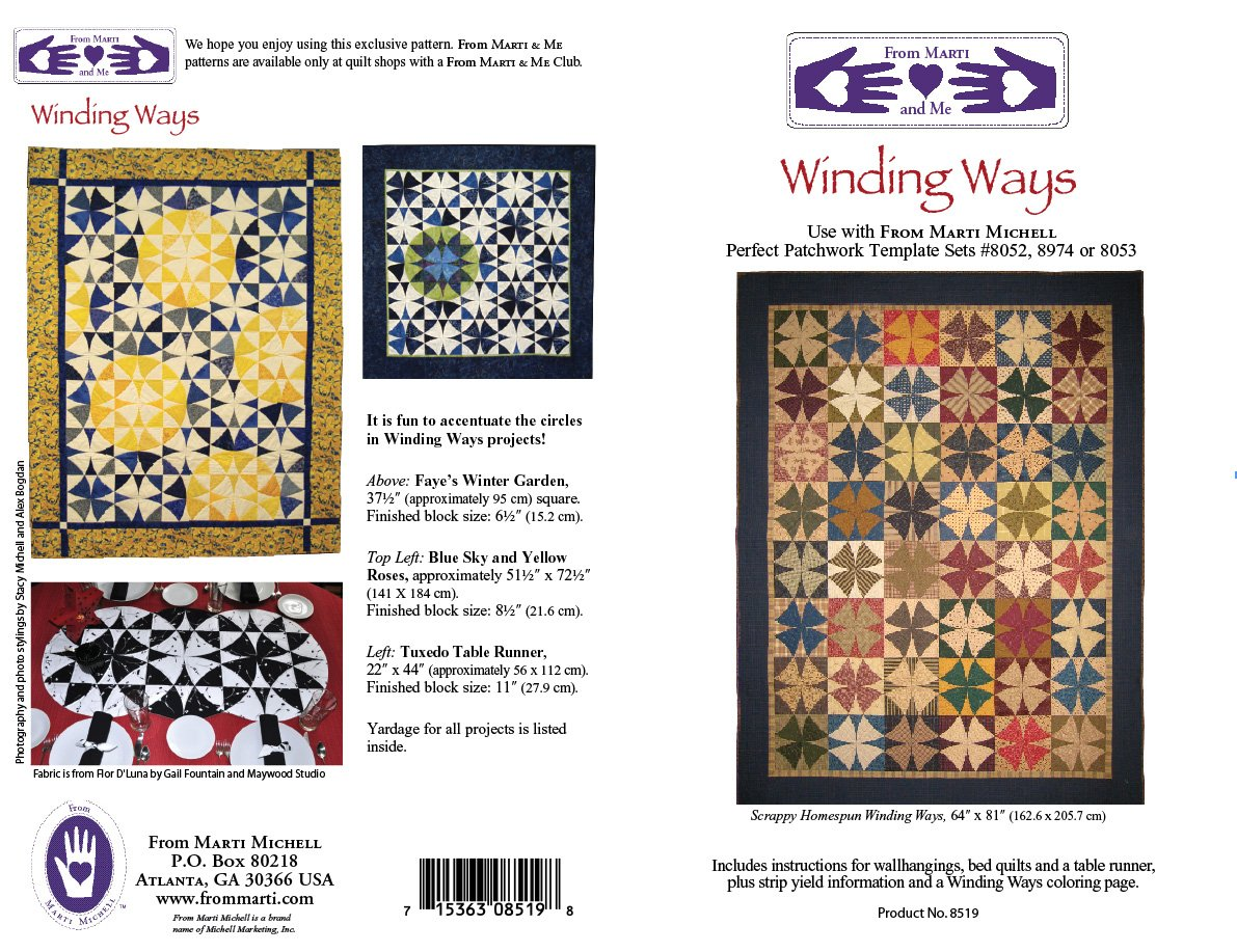 Winding Ways Pattern Marti Michell