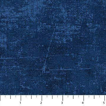 Northcott Canvas Collection 9030-49 Navy 44/45 100% Cotton