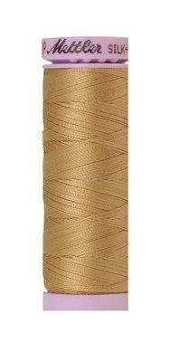 Thread Cotton Mettler Silk-Finish Cotton Machine Quilting Thread Size 50 164 Yards 9105 0285 (105) Color Caramel Cream