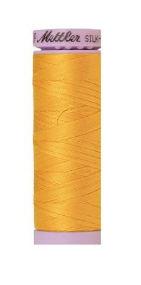 Thread Cotton Mettler Silk-Finish 50wt Solid Cotton Thread 164yd/150M 9105 2522 105 Citrus