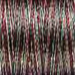 Sulky Rayon 30 wt 180 yds Variegated Green Burgundy Tan