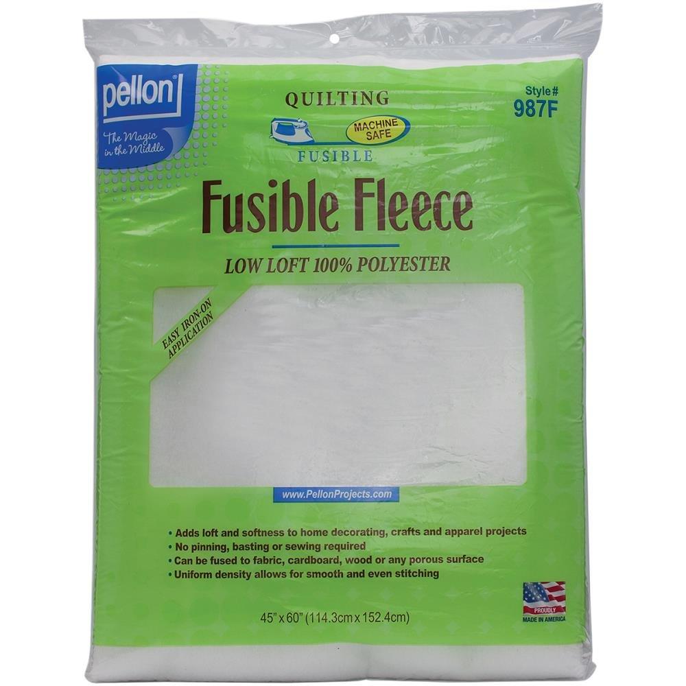 Pellon 987F45 Fusible Fleece White Package 45X60