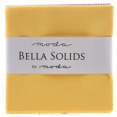 Fabric Charm Pack  5 square 42 count Moda Bella Solids Yellow #9900PP-24s