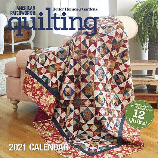 American Patchwork & Quilting 2021 Calendar