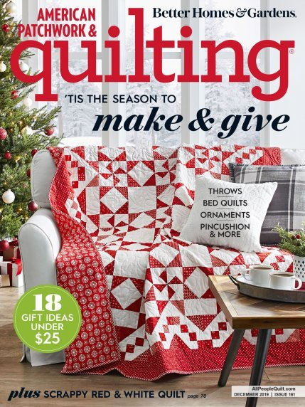American Patchwork & Quilting December 2019 Issue 161