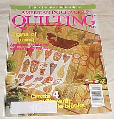 American Patchwork & Quilting April 2002 Issue 55