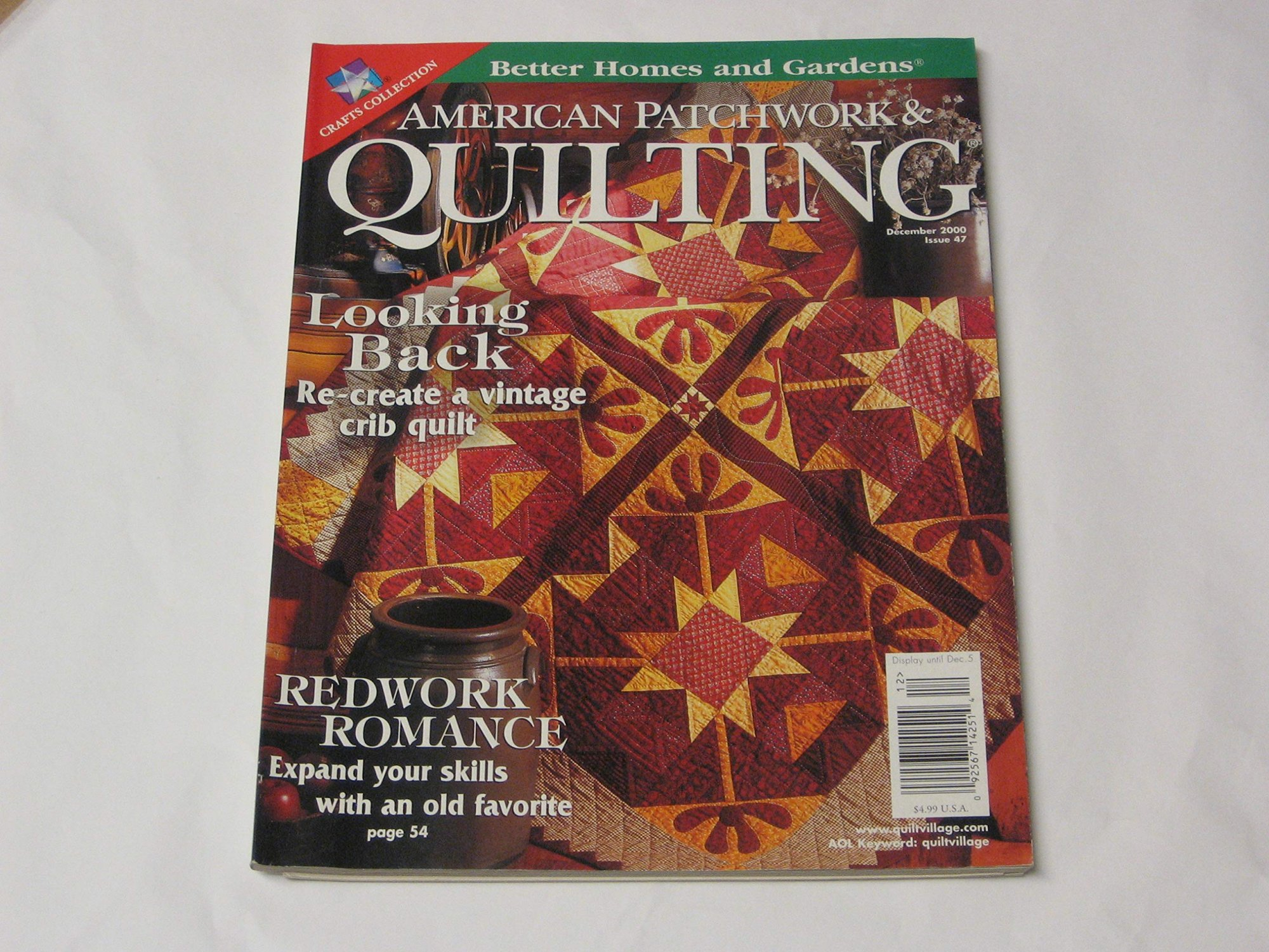 American Patchwork & Quilting December 2000 Issue 47