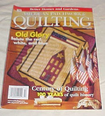 American Patchwork & Quilting February 2002 Issue 54