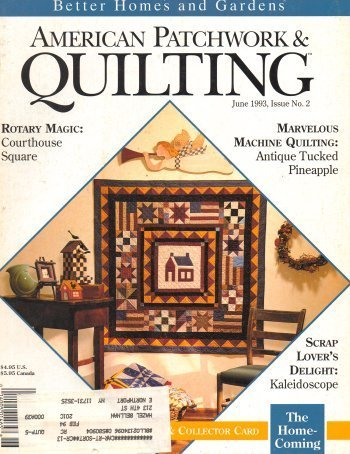 American Patchwork & Quilting June 1993 Issue 2