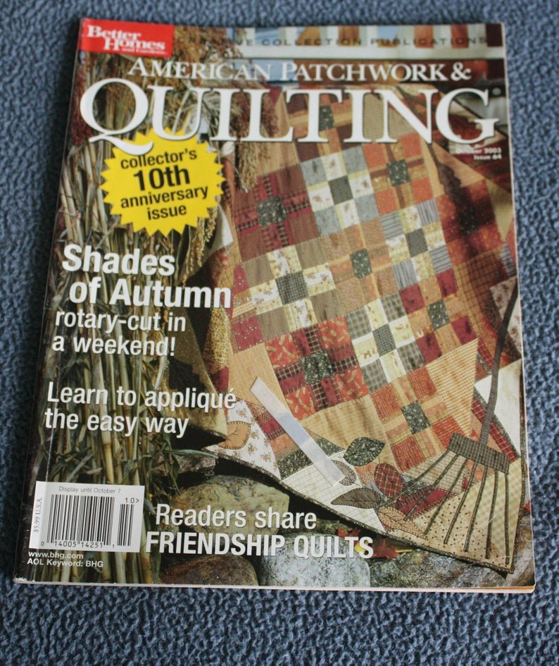American Patchwork & Quilting October 2003 Issue 64