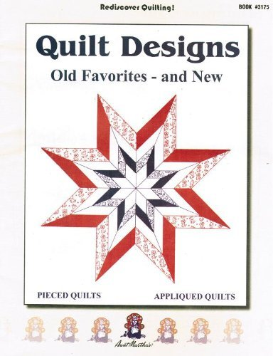 Booklet Aunt Martha's Quilt Designs & Patterns Old Favorites and New