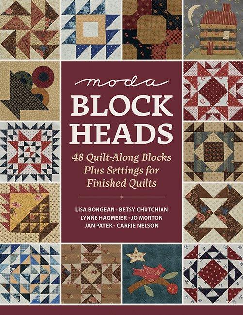 Book Moda Block Heads 48 Quilt-Along Blocks