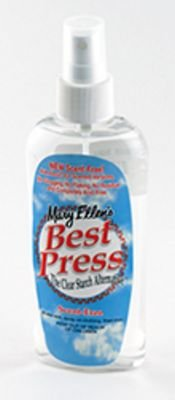 Mary Ellen's Best Press Clear Starch Alternative 6 Ounces Scent Free