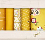 Fabric Cotton Color Master 10 Fat Quarter Cuts by Art Gallery Fabrics Gold Leaf Collection