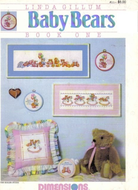 Booklet Baby Bears Book One by Linda Gillium