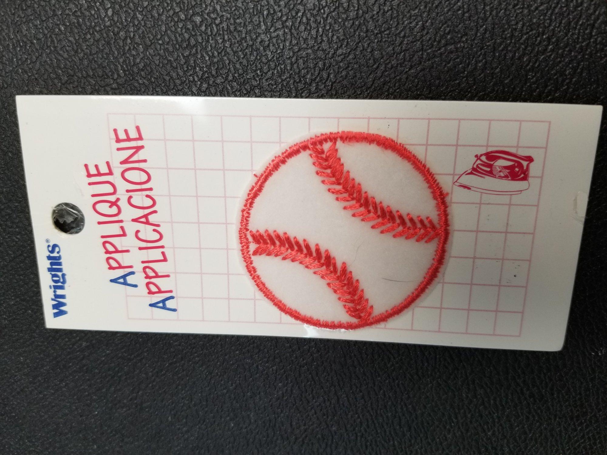 Wrights Applique - Baseball