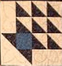 Kit URR Basket 6 Block Underground Railroad Sampler (Quilt in a Day Series)
