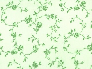 Tonal Green Floral 108 Wide Back