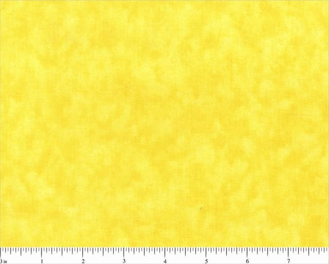 Remnant 25  X WOF BLENDER 0502 VIBRANT YELLOW Tonal 44/45 inch wide 100% cotton