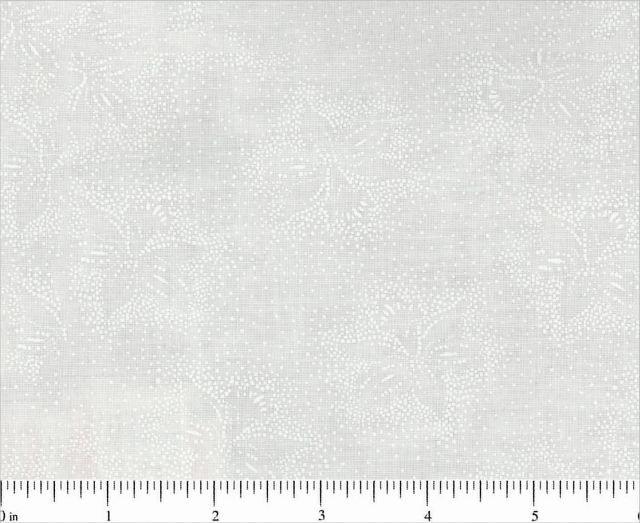 Fabric Cotton Tonal Choice Fabric Tone on Tone 3056 100% Cotton / 45 wide / White on White