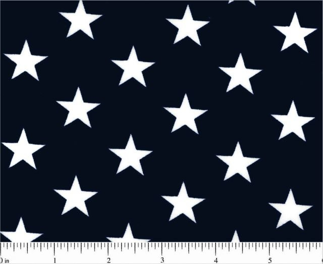2 3/4 yard x 108 wide backing Patriotic Navy with stars 100% Cotton - copy